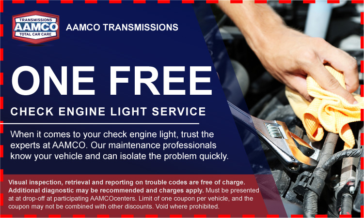 Coupon for a Free Check Engine Light Inspection