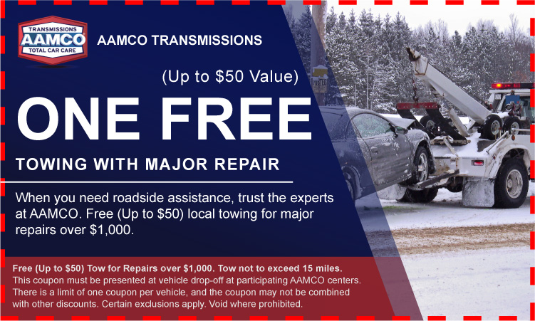 coupon for Free Towing